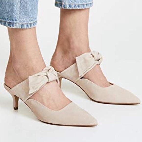 3a64090cfa Anthropologie Shoes | Sale Eeuc Botkier Pina Mule In Blush | Poshmark